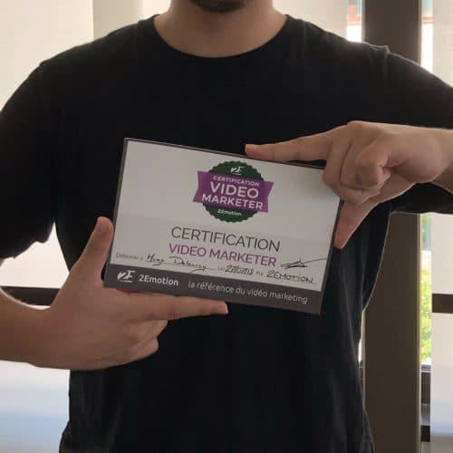 certification video marketing