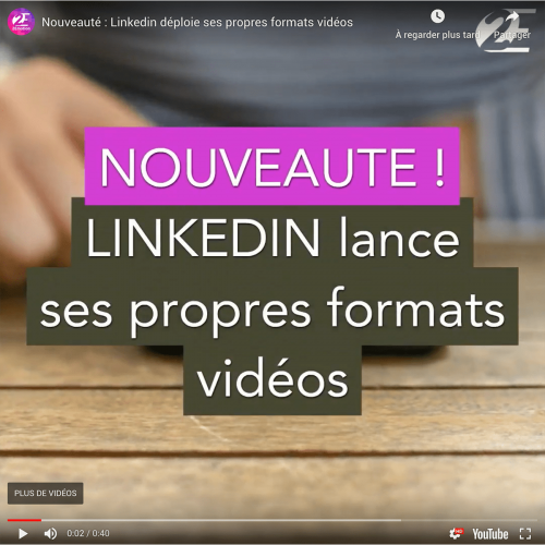 linkedin format video