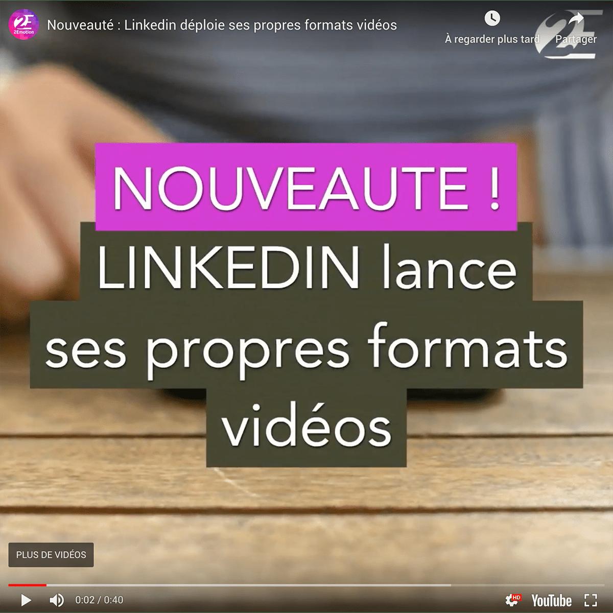 linkedin format video