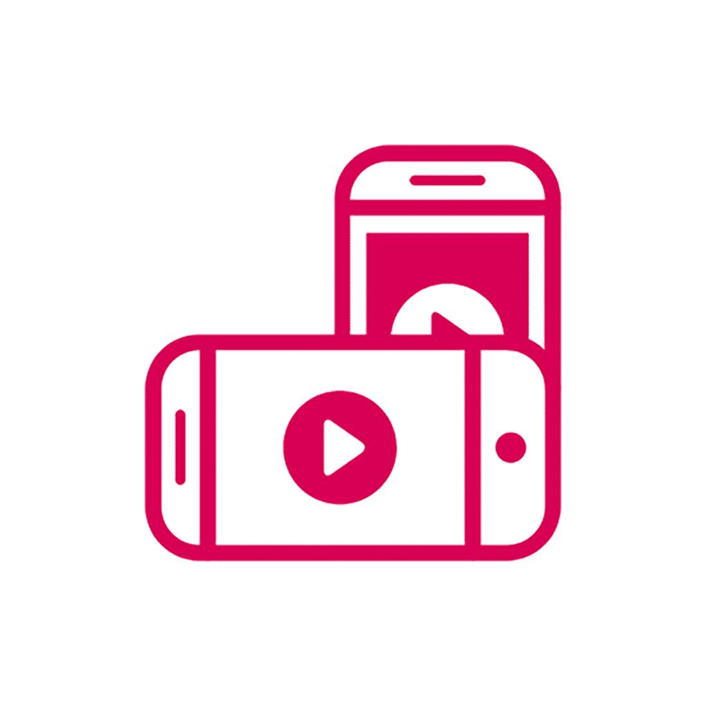 vidéos pour les réseaux sociaux